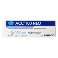 ACC 100 NEO 20x100 mg šumivých tablet