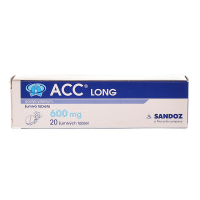 ACC LONG 600 mg x 20 šumivých tablet