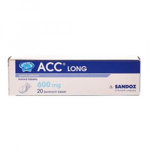 ACC LONG 600 mg x 20 šumivých tablet