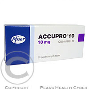 ACCUPRO 10  30X10MG Potahované tablety