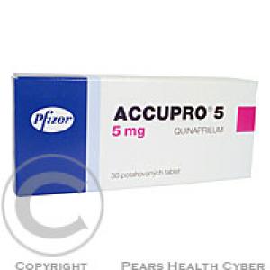 ACCUPRO 5  50X5MG Potahované tablety