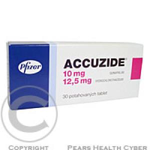 ACCUZIDE  10 Potahované tablety