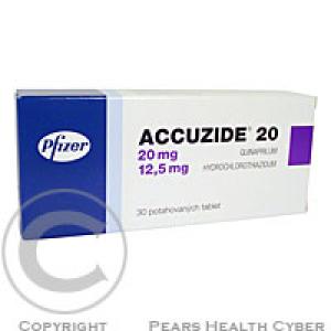 ACCUZIDE 20  30 Potahované tablety