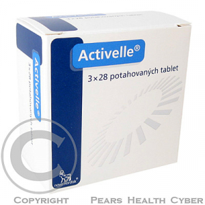 ACTIVELLE  3X28 Potahované tablety