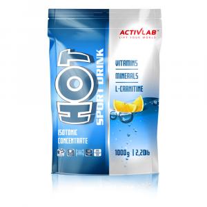ACTIVLAB Hot sport iontový nápoj citron 1000 g