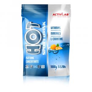 ACTIVLAB Hot sport iontový nápoj pomeranč 1000 g