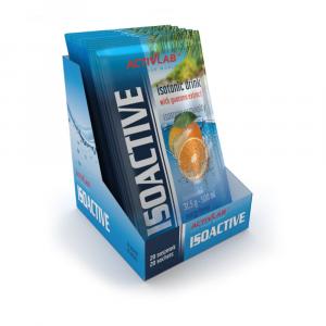 ACTIVLAB Isoactive iontový nápoj s guaranou pomeranč 20 sáčků