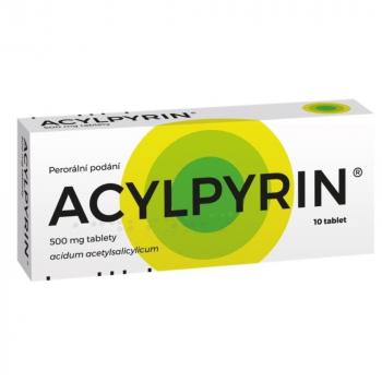 ACYLPYRIN 500 mg 10 tablet