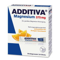 ADDITIVA Magnesium 375 mg Direct pomeranč 20 sáčků
