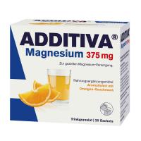 ADDITIVA Magnesium 375 mg nápoj pomeranč 20 sáčků
