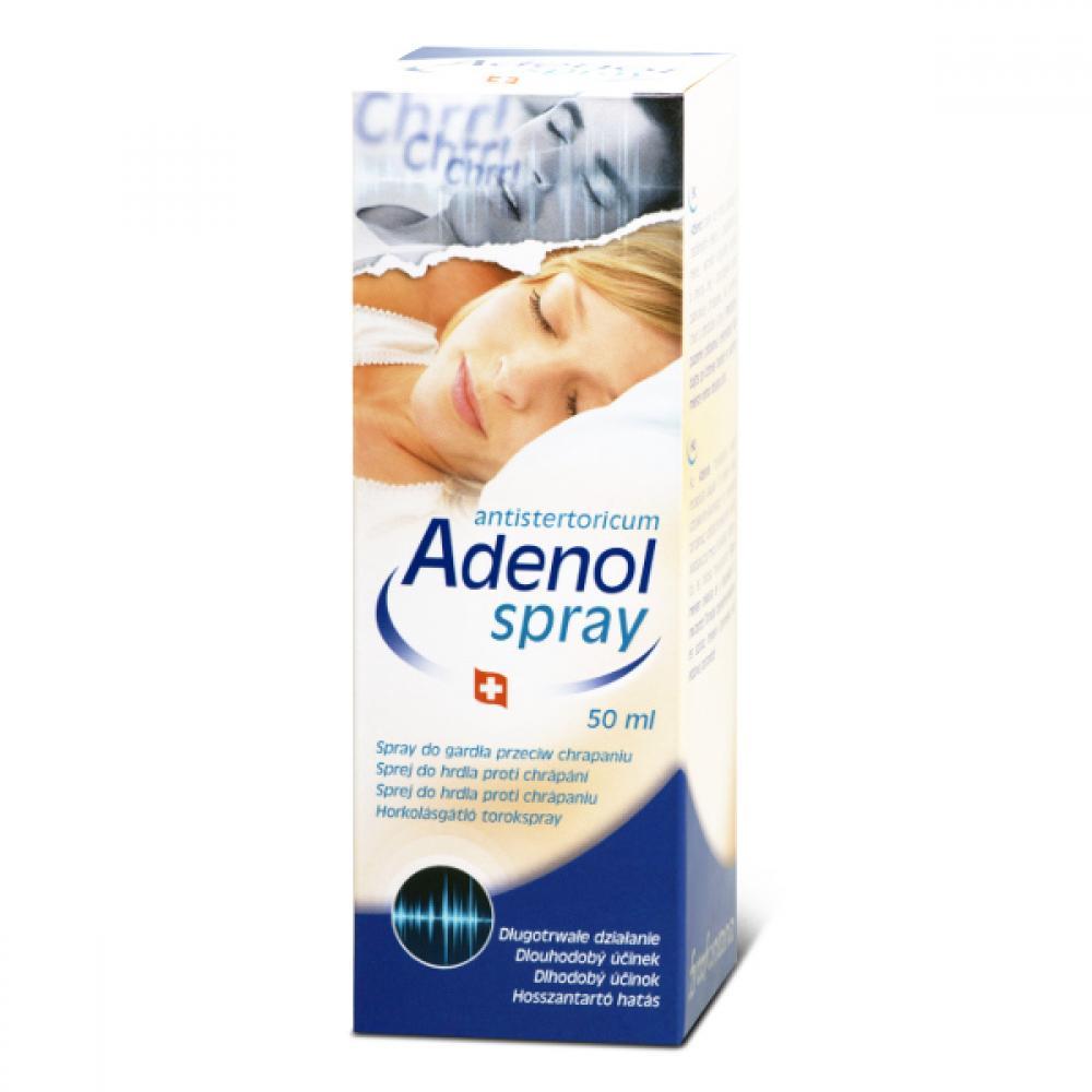 Adenol sprej do hrdla proti chrápání 50 ml