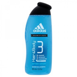 ADIDAS Sprchový gel 3in1 After Sport 400 ml
