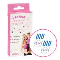 ADIEL SeeNow Těhotenské testy hCG 5 kusů
