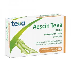 AESCIN-TEVA 20 mg 30 tablet