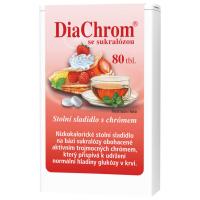 DIACHROM Se sukralózou 80 tablet