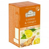 AHMAD TEA Citron a zázvor 20x2 g