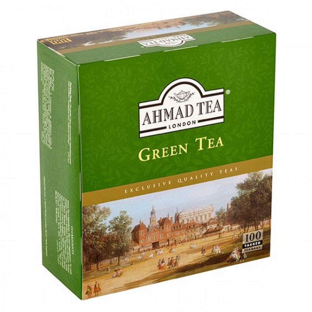 AHMAD TEA Green Tea 100x2 g