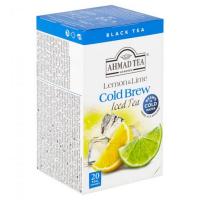 AHMAD TEA Ledový čaj Lemon and lime 20x2 g