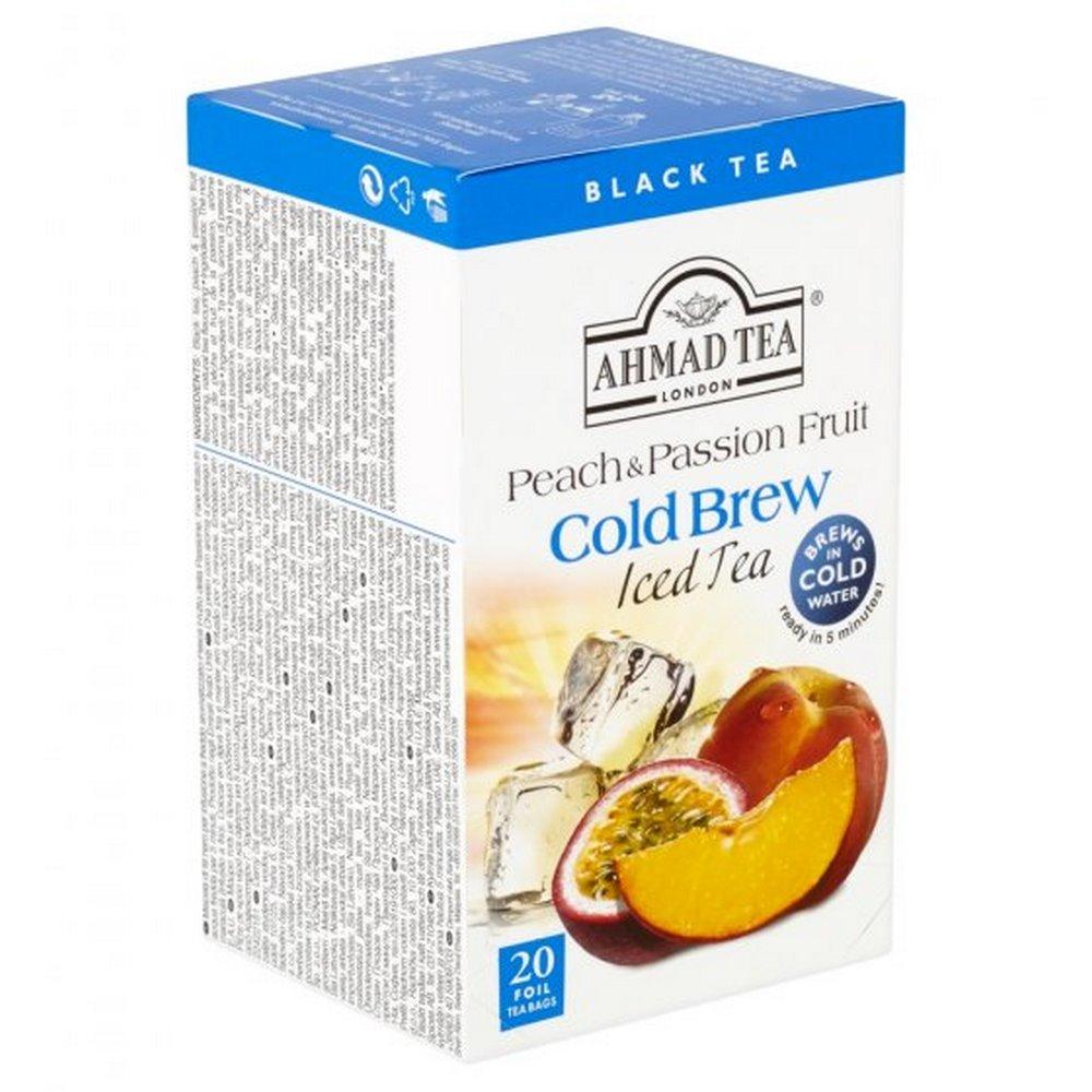 AHMAD TEA Ledový čaj Peach and passion fruit 20x2 g