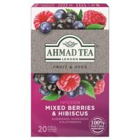 AHMAD TEA Mixed Berries & Hibiscus ovocný čaj 20 sáčků