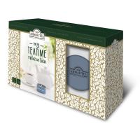 AHMAD TEA My Teatime Relaxation 15 sáčků + Vonná svíčka v plechové dóze