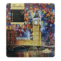 AHMAD TEA Timeless tea Collection 72x2g v luxusní plechové kazetě