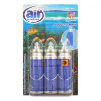 AIR MENLINE Happy náplně Aqua World 3 x 15 ml