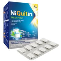 NIQUITIN Freshmint 4 mg žvýkací guma 100 ks