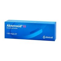 AKNEROXID 10 GEL 1X50GM 10%