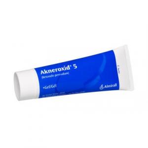 AKNEROXID 5 gel 5 % 50 g