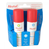 AKUTOL spray + AKUTOL STOP spray DUOPACK 2x60ml