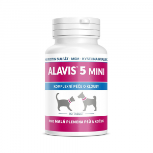 ALAVIS 5 pro psy a kočky MINI 90 tablet