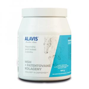 ALAVIS MSM + Patentované kolageny pro koně prášek 600 g