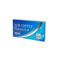 ALCON Air Optix Plus HydraGlyde měsíční čočky 6 kusů, Počet dioptrií: -0,50, Počet kusů v balení: 6 ks, Průměr: 14,2, Zakřivení: 8,6