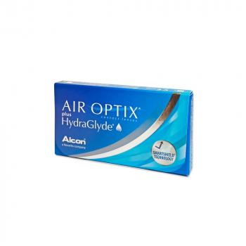 ALCON Air Optix Plus HydraGlyde měsíční čočky 6 kusů, Počet dioptrií: -2,25, Počet kusů v balení: 6 ks, Průměr: 14,2, Zakřivení: 8,6