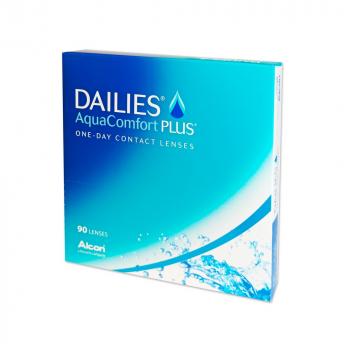ALCON Dailies AquaComfort Plus jednodenní čočky 90 kusů, Počet dioptrií: -8,00, Průměr: 14,0, Zakřivení: 8,7, Počet kusů v balení: 90 ks