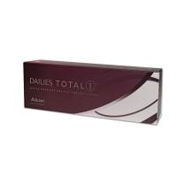 ALCON Dailies Total Jednodenní kontaktní čočky 30 kusů, Průměr: 14,1, Zakřivení: 8,5, Počet dioptrií: -10,0, Počet kusů v balení: 30 ks