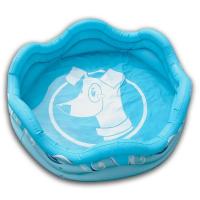 ALCOTT Modrý nafukovací bazén pro psy 121,9x40,6  cm