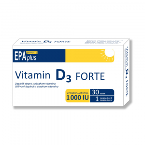 ALFA VITA Vitamin D3 forte 1000 I.U. Epa plus 30 tablet