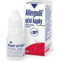 ALLERGODIL Oční kapky 0,5 mg 6 ml