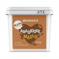 ALLNATURE Arašídové máslo s mléčnou čokoládou 5 kg