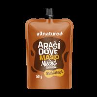 ALLNATURE Arašídové máslo s mléčnou čokoládou 50 g