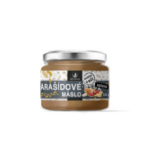 ALLNATURE Arašídové máslo solené 220 g