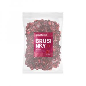 ALLNATURE Brusinka sušená 1000 g