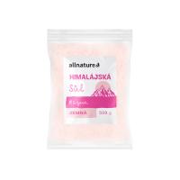 ALLNATURE Himalájská sůl růžová jemná 500 g
