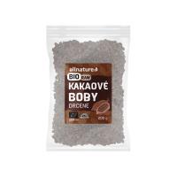 ALLNATURE Kakaové boby drcené BIO/RAW 200 g