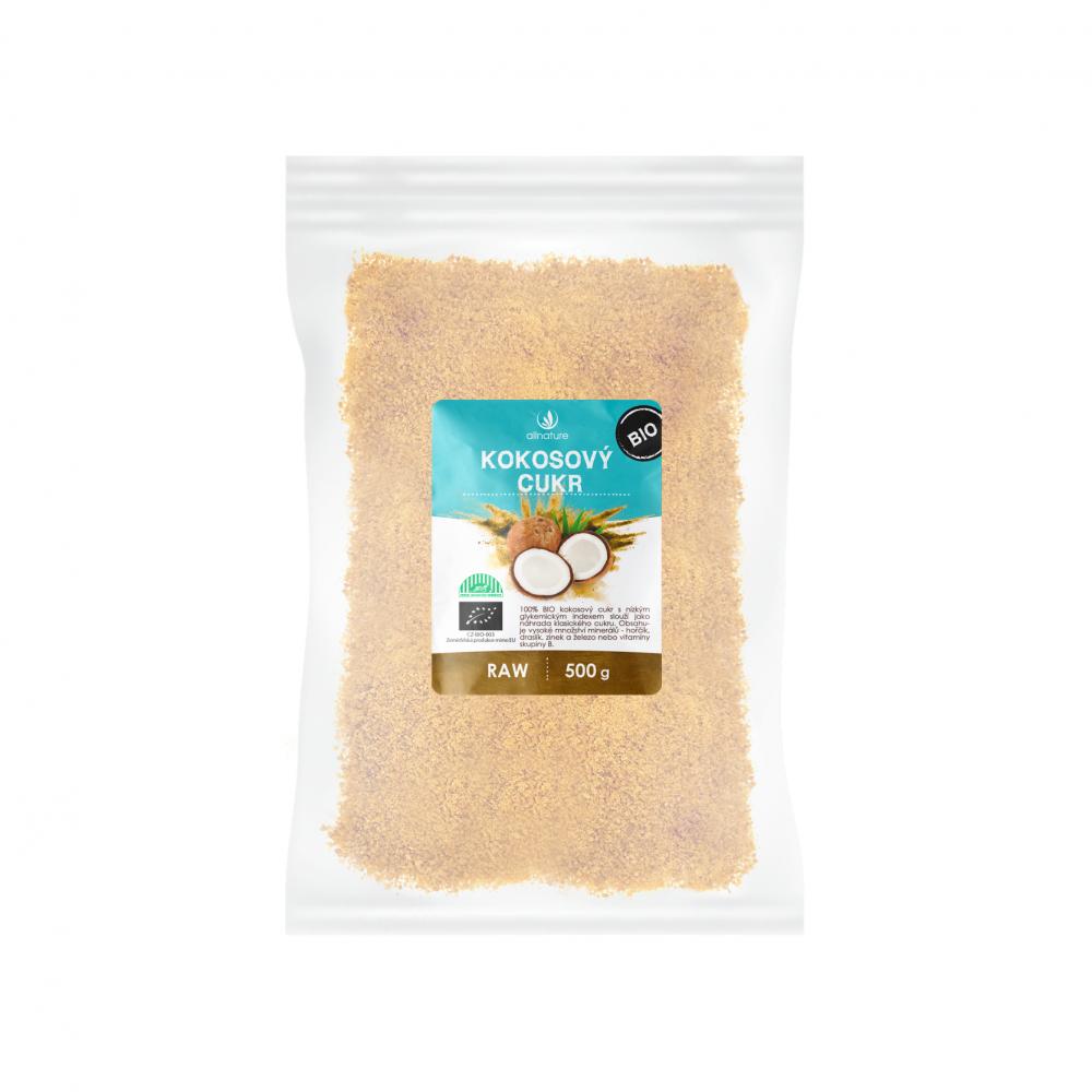 ALLNATURE Kokosový cukr 500 g BIO