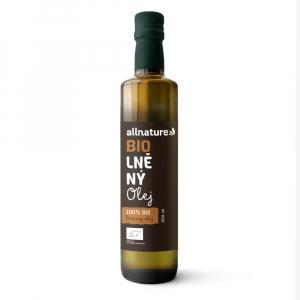 ALLNATURE Lněný olej 250 ml BIO