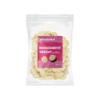 ALLNATURE Makadamové ořechy jádra 50 g