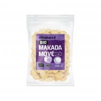 ALLNATURE Makadamové ořechy 250 g BIO
